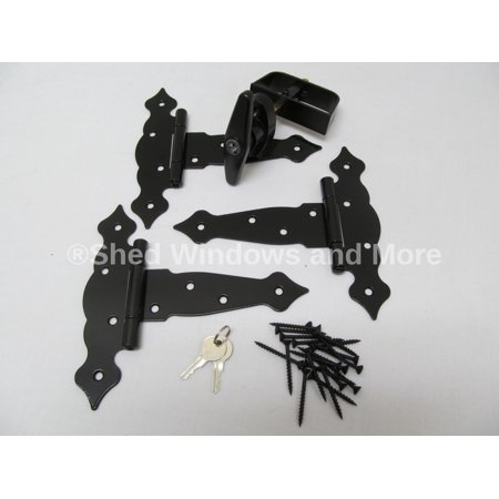 Horse Stall Gate - Single Door Hardware Kit 6