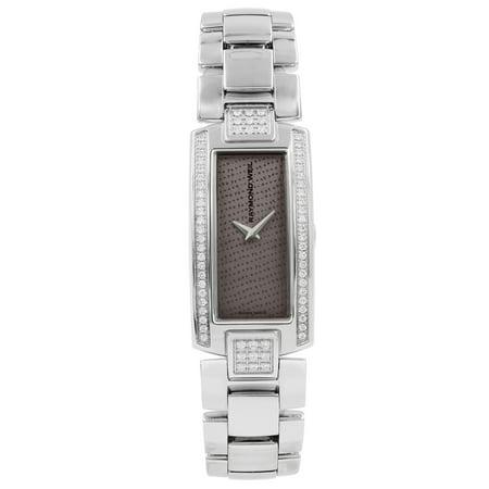 Raymond Weil Shine Diamond Grey Polka Dot Dial Lady Quartz Watch 1500-ST2-60000