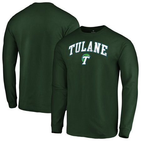 new arrival dce31 37765 Tulane Green Wave Fanatics Branded Campus Long Sleeve T-Shirt - Green