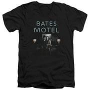Bates Motel Motel Room Mens V-Neck Shirt