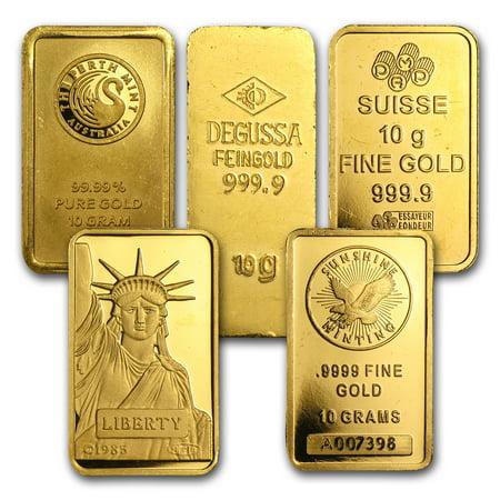 10 gram Gold Bar - Secondary Market (Best Gold Bars For Investment)