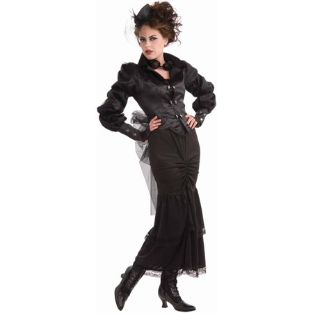 Steampunk Victorian Lady Women's Adult Halloween Costume, 1 Size - Teen Steampunk Costume