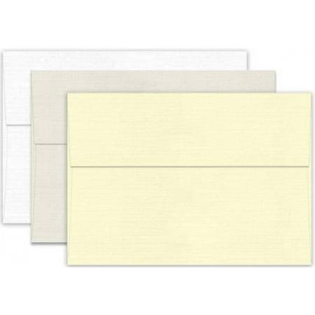Classic LINEN Antique Gray (70T/Linen) - A6 Envelopes (4.75-x-6.5) - 1000 PK Gray 1000 Envelopes