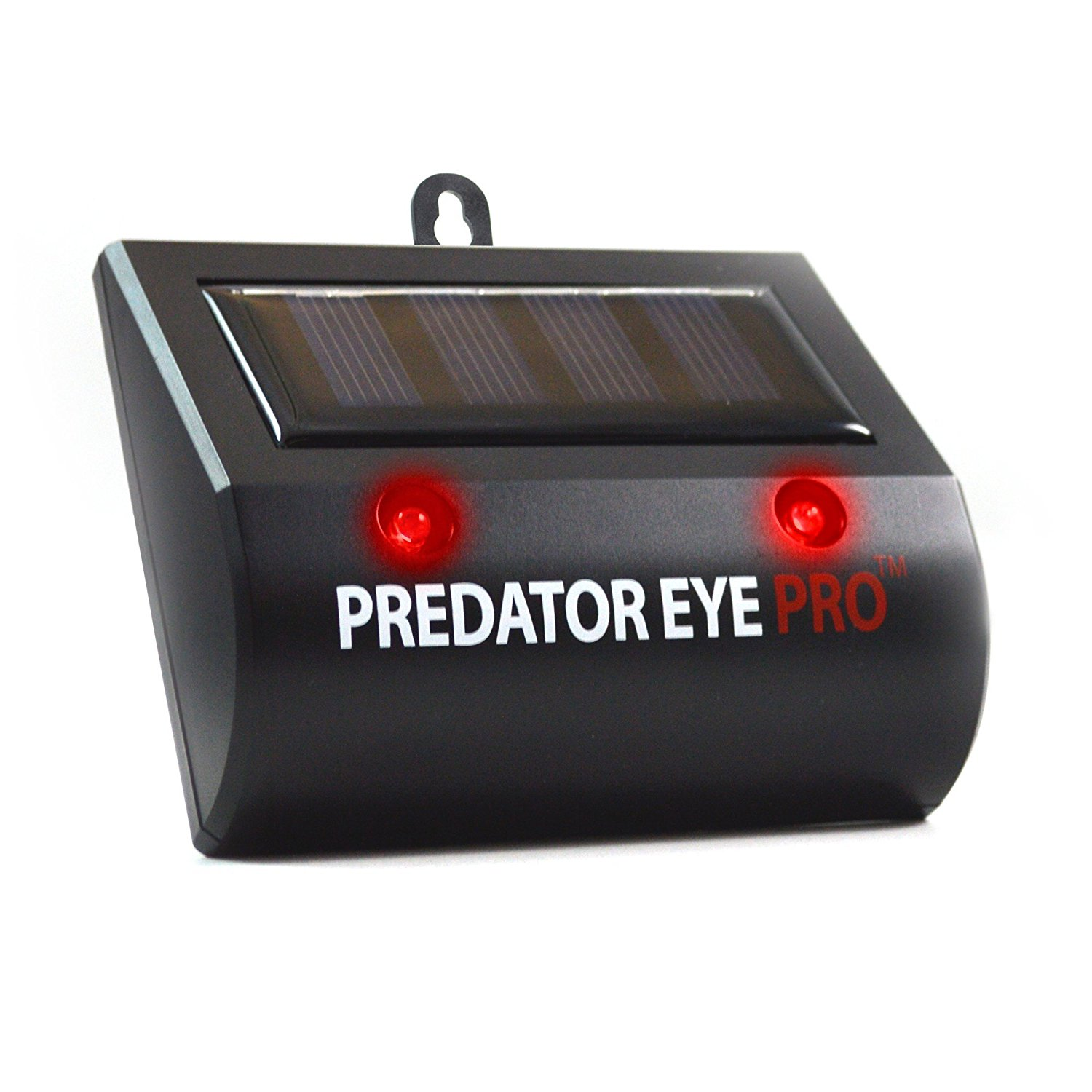 Aspectek l 4600sq ft l Predator Eye PRO l Kick Stand Solar Powered | Predator Light Deterrent Light | Night Time Animal Control for Wild Animals Rodents, Cats, Dogs, Birds, Raccoon, Wolves, Foxes