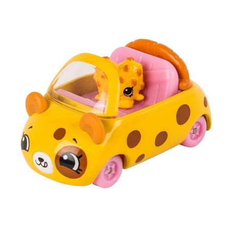 Cutie Cars Shopkins Season 1 Single Pack, Chocolate Chip - Chocolate Cars