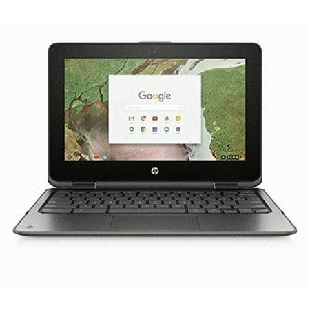 "HP 11-AE020NR 2-in-1 11.6"" Touch-Screen Chromebook Intel Celeron 4GB Memory 32GB eMMC Flash Smoke gray"