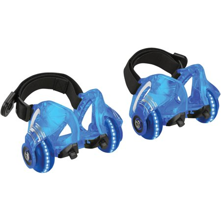 Razor Jetts DLX Heel Wheels with Sparks Neon Blue- Ages 9+