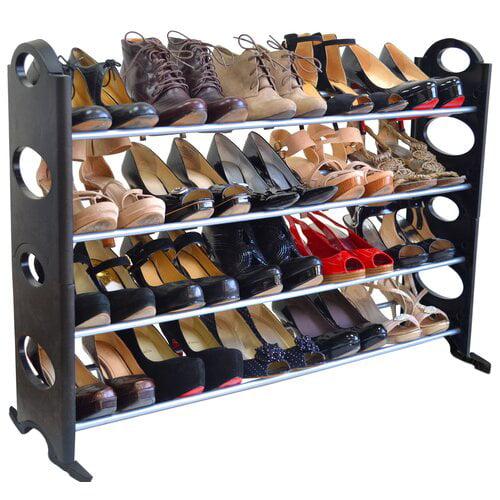Rebrilliant 20 Pair Shoe Rack