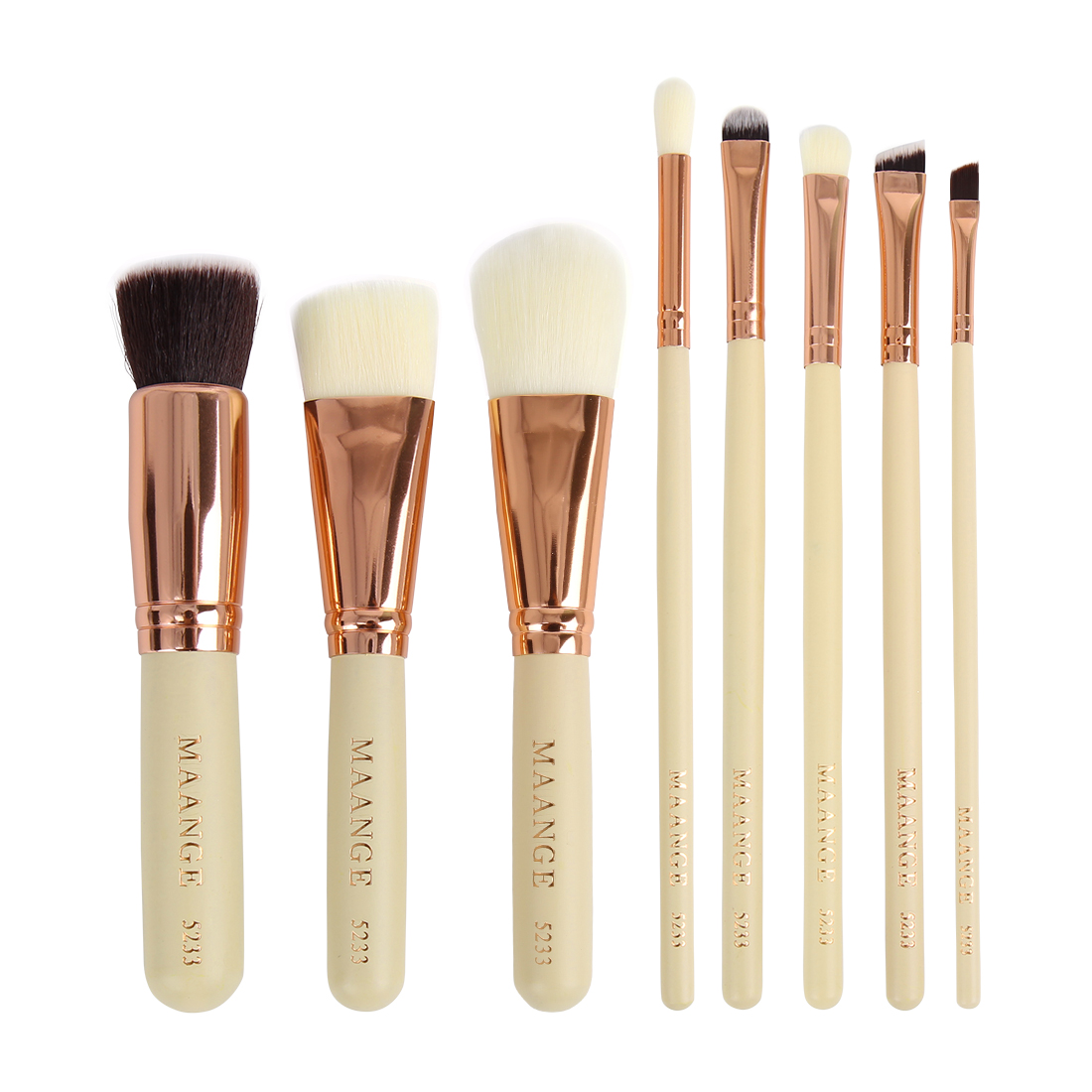 8pcs Pro Makeup Brush Set Powder Foundation Eyeshadow Eyebrow Lip Cosmetic Tool