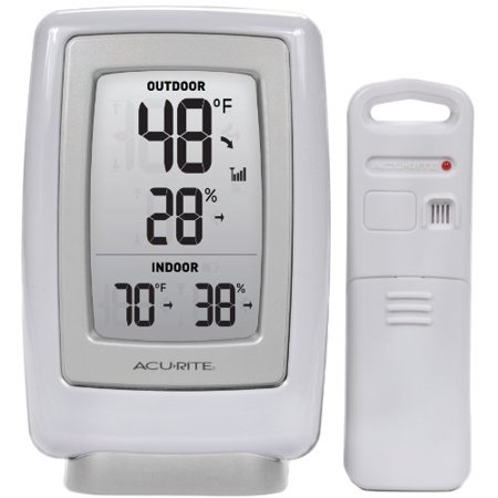 Acurite Digital Indoor / Outdoor Temperature & Humidity Monitor ...