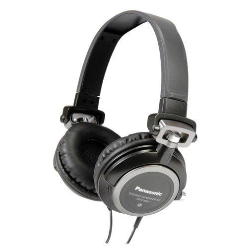Panasonic RPDJ600K DJ Style Headphones