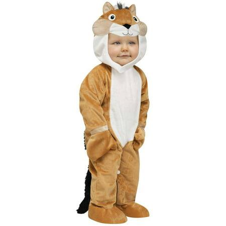 Chipper Chipmunk Toddler Halloween Costume, 12-18 Months