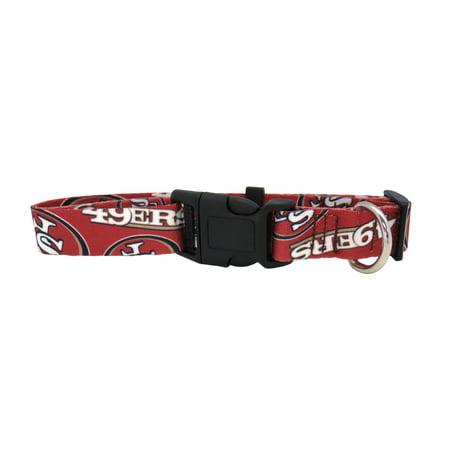 San Francisco 49ers Dog Collar Size XS