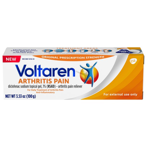 what is voltaren beat out familiar for