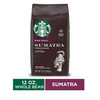 Starbucks Dark Roast Whole Bean Coffee  Sumatra  100% Arabica  1 bag (12 oz.)