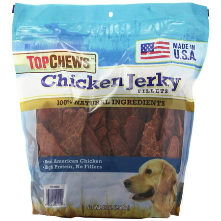 UPC 031400066341 product image for Top Chews Chicken Jerky Fillets, 48 Oz | upcitemdb.com