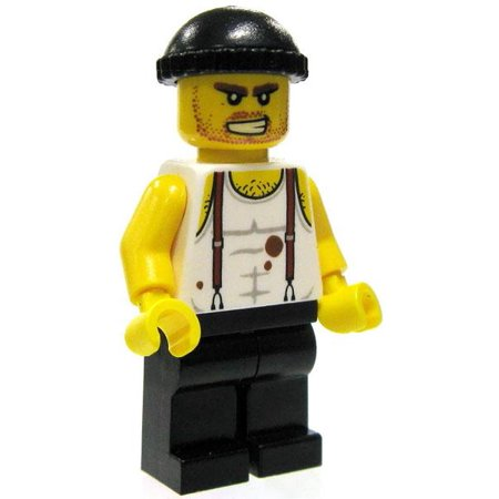 Halloween City Hiring (LEGO City Loose Hired Muscle Minifigure)