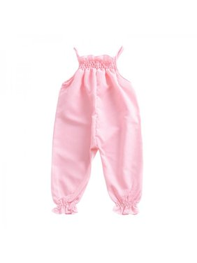 bead0ced1298 Product Image Lavaport Summer Baby Girls Romper Jumpsuit Elastic Lace Harness  Kids Clothing