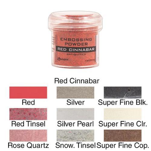 Embossing Powder 1oz Jar Rose Quartz