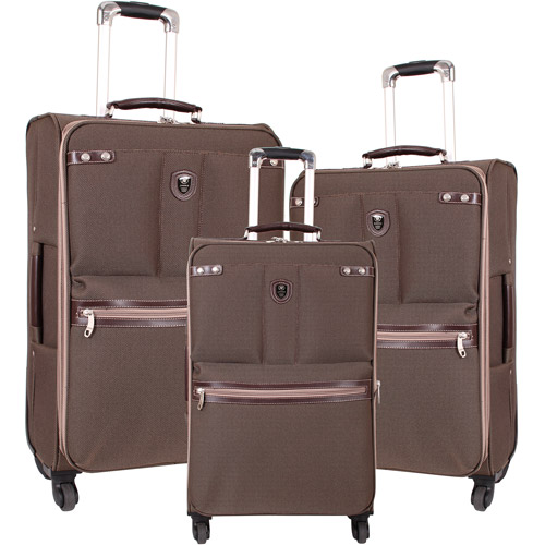 J World Centennial 3-Piece Spinning Luggage Set