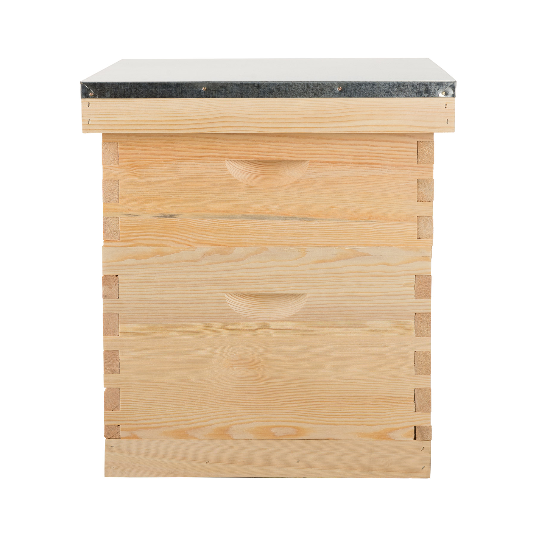 5 Brood Boxes For10-Frame Hive Frame//Bee Hive Frame//Beehive w// Metal Roof