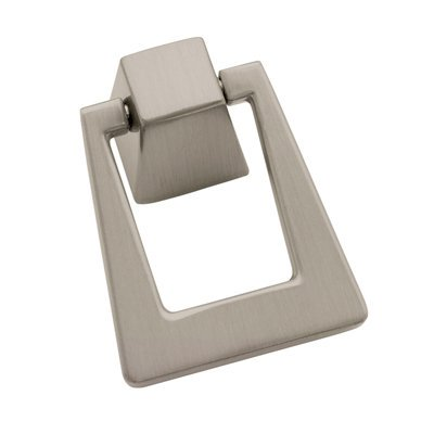 Blackrock 1-13/16 in (46 mm) Length Satin Nickel Cabinet Pendant