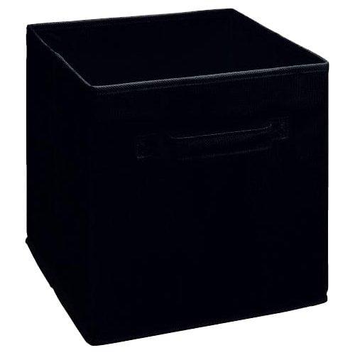 ClosetMaid Cubeicals Fabric Drawer, Black
