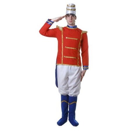 Dress Up America 344-L Adult Toy Soldier Costume  - Size Large - Adult Dress Up Ideas