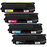 Brother TN336 Toner Cartridge -Brother TN336BK, TN336C, TN336M, TN336Y (Pack of 4) by Brother