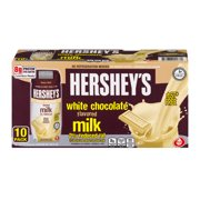 Hershey's 2% Reduced Fat White Chocolate Milk, 8 Fl. Oz., 10 Count