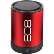 Small Bluetooth Speaker, 808 Canz Red Wireless Home Outdoor Speaker Bluetooth