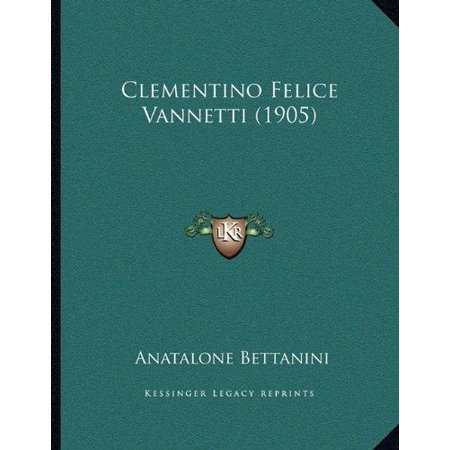 Clementino Felice Vannetti  1905