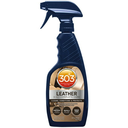 303 Automotive Leather and Vinyl Cleaner, Conditioner, Restorer and UV Protectant, 16 fl (Best Vinyl Protectant For Cars)