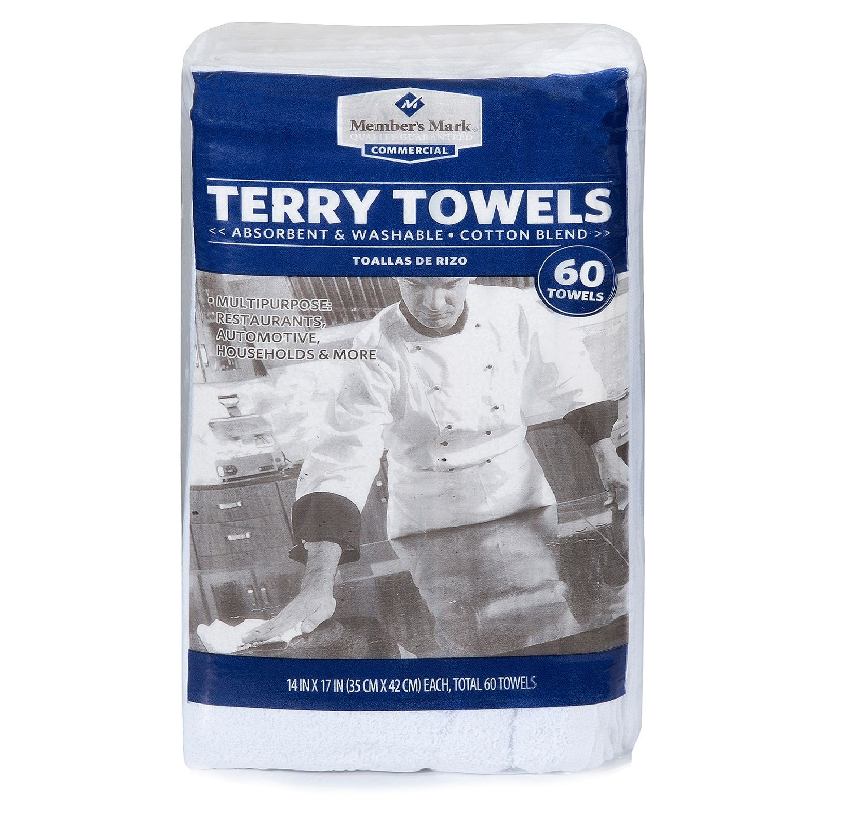Member's Mark Terry Towels 60 pk.