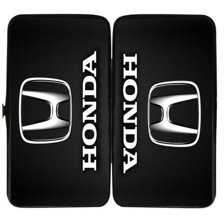 Honda Automobile Company Classic Logo Emblem Hinged Wallet