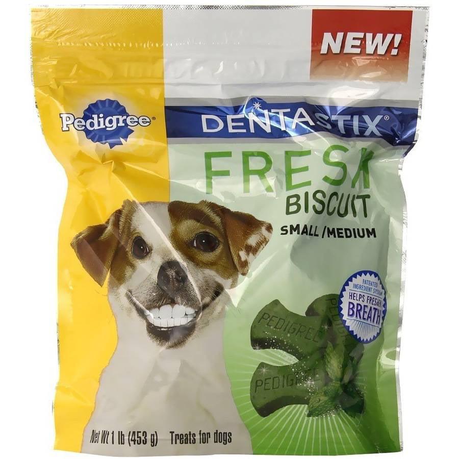 Pedigree Dentastix Fresh Biscuit, Small/Medium, 1 lb