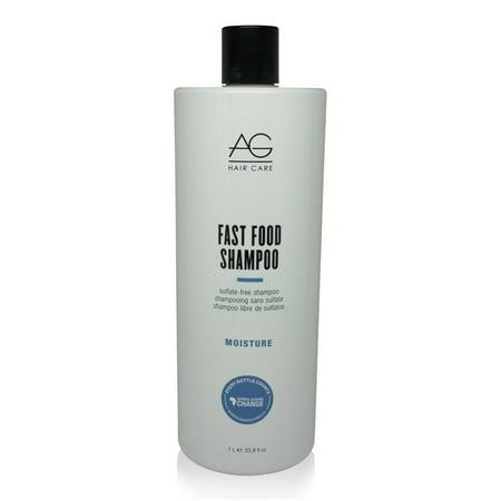 Ag Fast Food Leave (AG Hair Fast Food Shampoo 33.8 Oz )