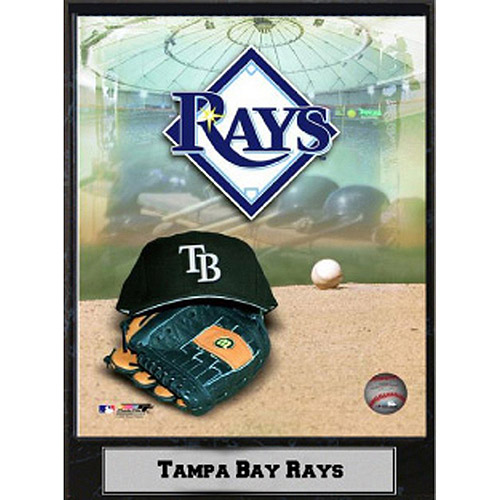 MLB Tampa Bay Rays Photo Plaque, 9x12