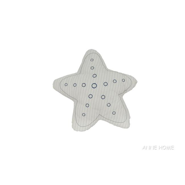 Old Modern Handicrafts AB005 Star Pillow White by Old Modern Handicrafts