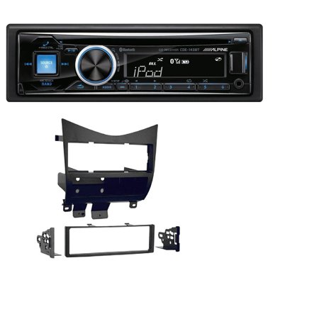 HONDA ACCORD 2003 2004 2005 2006 2007 CAR STEREO RADIO CD PLAYER RECEIVER INSTALL MOUNTING KIT Alpine CDE-143BT Advanced Bluetooth CD
