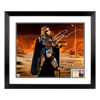 Gwendoline Christie Autographed Star Wars: The Force Awakens Attack On Tuanul 16x20 Framed Photo