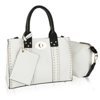 MKF Collection by Mia K. Elissa Satchel Handbag