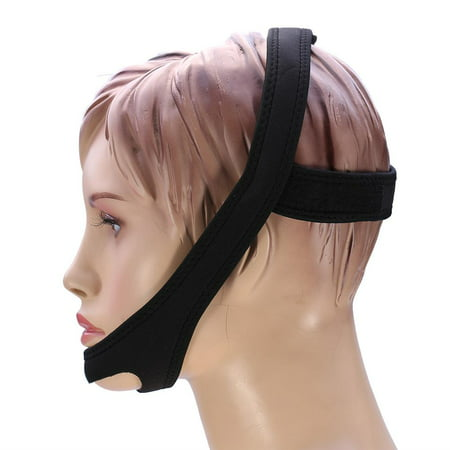 HERCHR 2 Types New Anti Snoring Snore Relief Stopping Strap Chin Jaw Sleeping Support Belt, Jaw Support Strap, Chin Support
