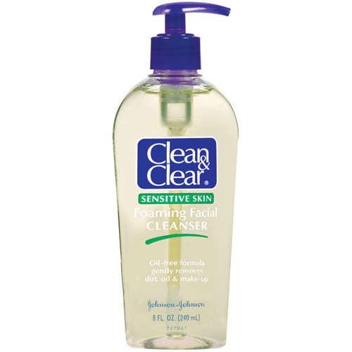 Sensitive Facial Skin Cleansers