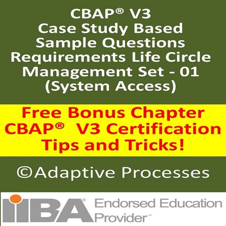 Case study based question - Requirement life circle management set- 01 - 1 - eBook