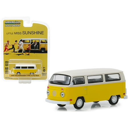 T2 Bus - 1978 Volkswagen Type 2 (T2) Bus Yellow w/White Top