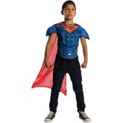 Superman Man Of Steel Muscle Chest Costume Top Child