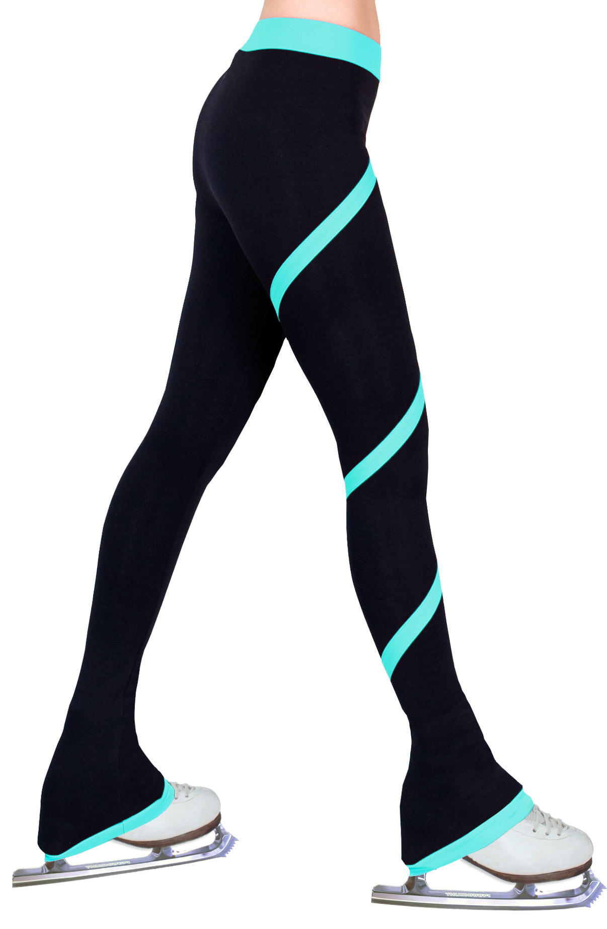 Ice Figure Skating Dress Pants Yoga Pants Warm Fleece Polartec UniqGarb VC