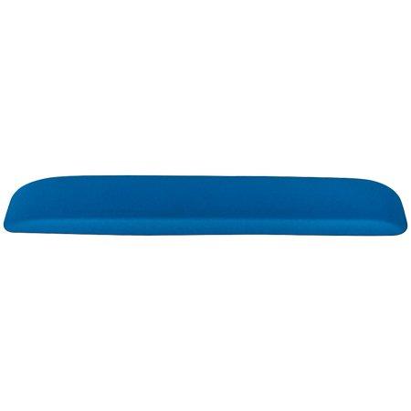 Staples Memory Foam Keyboard Wrist Rest Blue 24346018 Memory Foam Keyboard Rest
