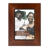 Prinz Dakota 4-inch x 6-inch Wood Picture Frame, Dark Walnut